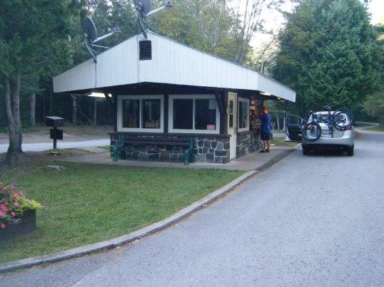 Ranger Station at Silent Lake