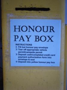 Honour Pay Box