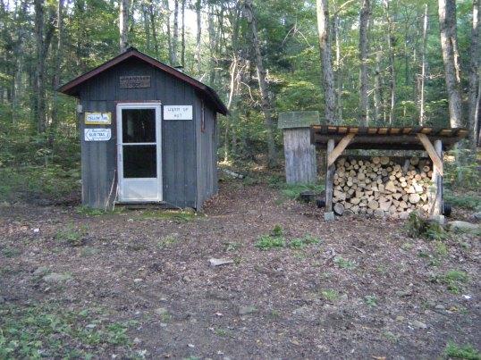 "The ""Warm up"" hut"