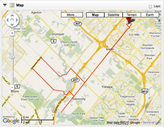 Rode Bike 35km Test Ride